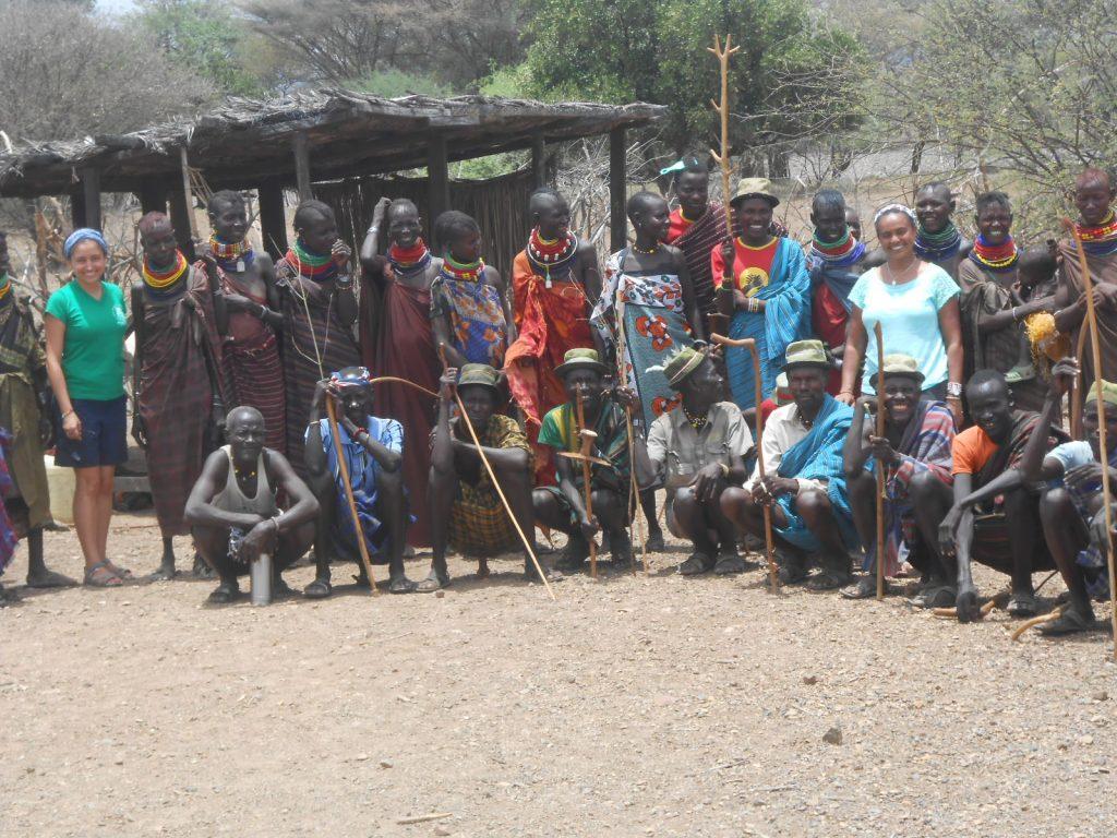 Comunidad Alagama pre-actividades